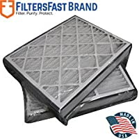FiltersFast Compatible Replacement for White Rodgers 20 x 26 x 5 (Actual Size: 20 x 25 7/8 x 4 7/8) Filter F825-0549 MERV 8 2-Pack