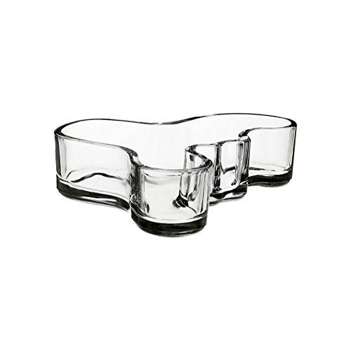 - Iitala Aalvar Aalto Bowl (Small), Clear