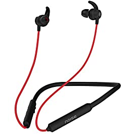 Noise Tune Active Wireless Neckband Headphones with Mic, IPX5 Sweat & Water Proof, 10 Hours Playtime, Dual Pairing…