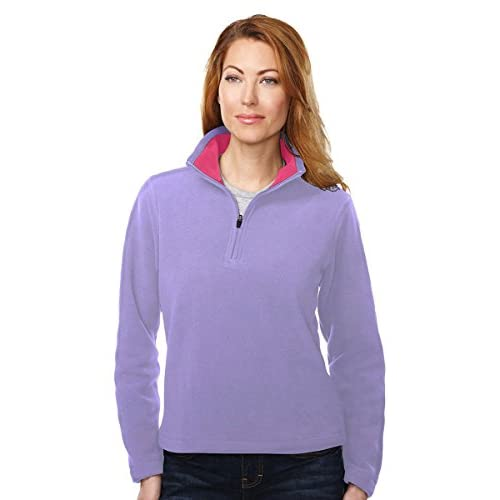 3235e7c8788006 delicate Tri-Mountain Gold FL7840 Womens 100% Polyester Knit Bonded  Contrast Micro Fleece