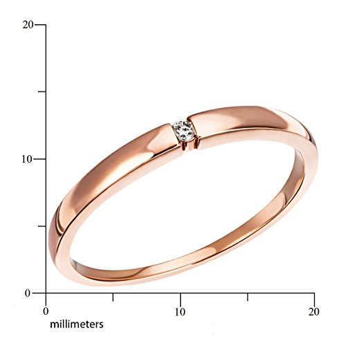 Goldmaid - So R4696RG56 - Bague Femme - Or 8 Cts 333/1000 1.47 Gr - Diamant