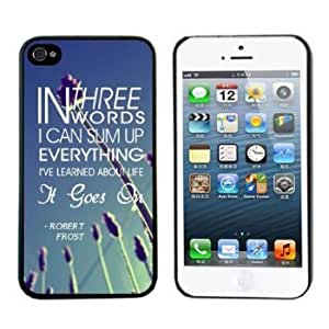 1pcs Newest Cute Hard Case for Iphone 5 5s (GOES ON Protective) Designed by HnW Accessories