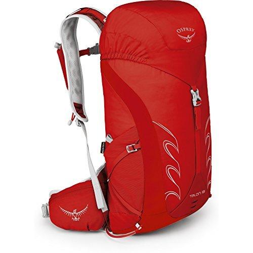 Osprey Talon 18 Hiking Backpack Medium/Large Martian Red [並行輸入品] B07DVX26S2