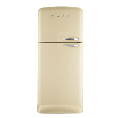 Smeg FAB50LCR Independiente 412L A++ Crema de color nevera y ...
