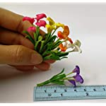 The-Best-Buy-Set-of-5-Dollhouse-Miniature-Colorful-Blank-Calla-Lilly-Bouquet-Flowers-Set-B