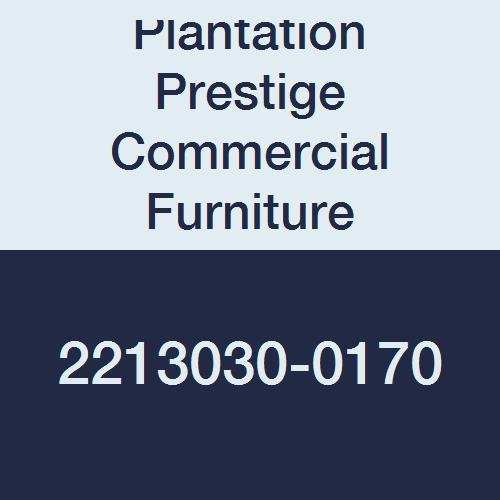 Plantation Prestige Commercial Furniture 2213030-0170 Solid Table Top, Steel Material Type, 30'' x 30'', Platinum by Plantation Prestige Commercial Furniture