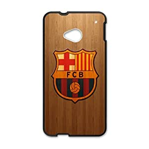 Futbol Club Barcelona D-Y-Y5030640 HTC One M7 Phone Back Case Personalized Art Print Design Hard Shell Protection