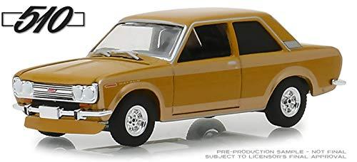 1968 Datsun 510 Metallic Yellow 50 Years of The Datsun 510