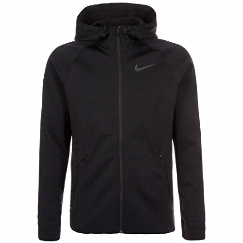 Nike Men's Therma-Sphere Full-Zip Training Jacket/Hoodie 800219-010 (Size 2X-Large) Black by NIKE