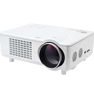 Amazon.com: Lightinthebox Mini LED 3D Home Theater Business Projector 4000 Lumens 1280x800 1080p ...