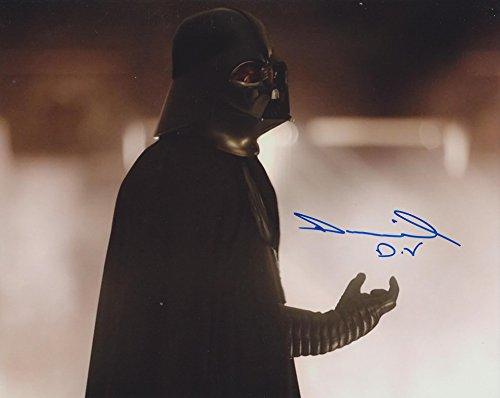 DANIEL NAPROUS as Darth Vader - Star Wars GENUINE AUTOGRAPH