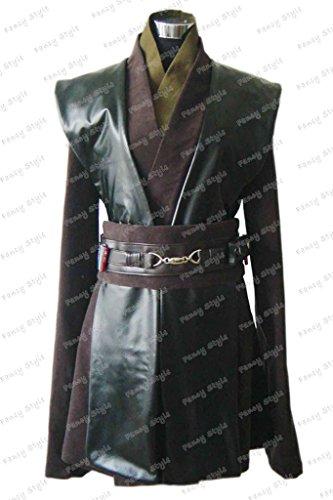 Star Wars Anakin Skywalker Cosplay Costume Kimino Green M - Custom Anakin Skywalker Costumes