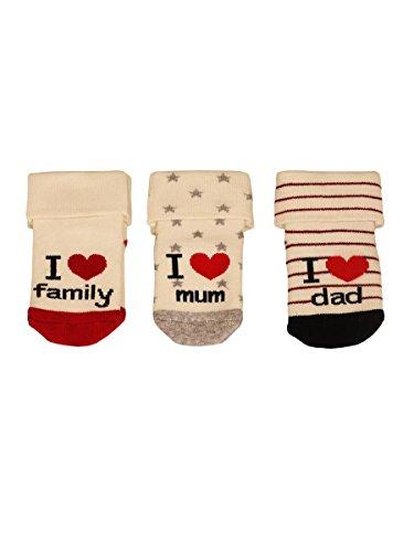 Baby Cotton Terry Socks I Love