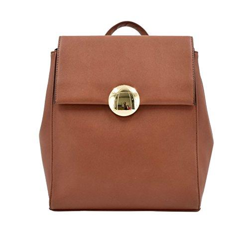 153a47cfe8 ESA Fashion Backpack Medium for Women Vegan Leather School Satchel Purse  Knapsack Bag - Buy Online in Oman.