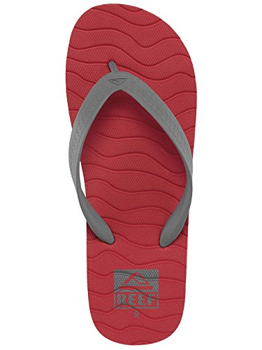 Reef Sandales Chipper Uk 4 Rouge Gris