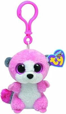 Ty 36504 Beanie Boos - Lemur de peluche Bubblegum con anilla: Amazon.es: Juguetes y juegos