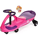 PAW Patrol - The Original PlasmaCar by PlaSmart Inc. - Skye - Pink, Ride On Toy, Ages 3 yrs and up, No batteries, gears, or pedals, Twist, turn, wiggle for endless fun