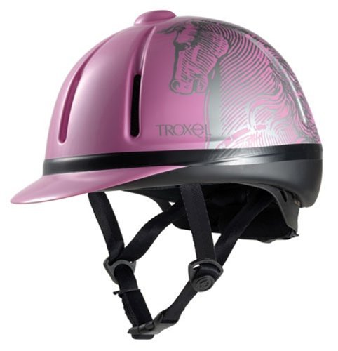 Troxel Legacy Antiqus Helmet, Pink, Small