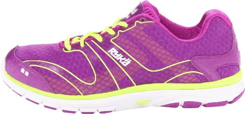 Ryka Womens Dynamic Running, Cross Training Shoes Purple 7.5 Medium (B,M)