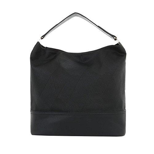 À L'épaule Pour Femme Noir design Porter Sac Ital 4xfwTqHO