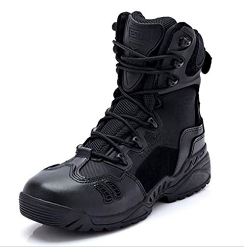 Trekking Desert Boots Da Caccia Speciali Scarponi Scarpe Fxmyl Uomo Deserto Stivali Traspiranti Black 1AEfwWqI