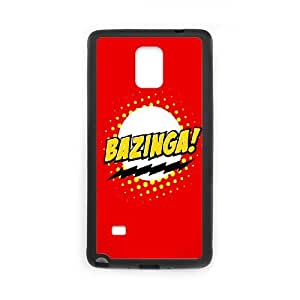 Samsung Galaxy Note 4 Cell Phone Case Black Bazinga K0T2PT