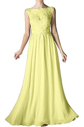 Promkleid Ivydressing A Nazisse Beliebt Damen Rundkragen Brautjungfernkleid Abendkleid Festkleid Chiffon Spitze Linie lang T4PTxqwr
