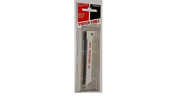 Porter-Cable 12352-5 Bayonet Saw Blade, Bi-Metal 4