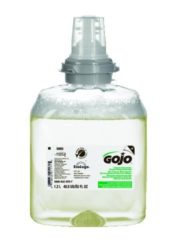 Gojo TFX Green Certified Foam Hand Cleaner Soap, 1200 Milliliter Refill -- 2 per case. by Gojo