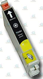 1 Chipped Epson T0484 Yellow Compatible 'Seahorse' Ink Cartridge for Epson Stylus Printers