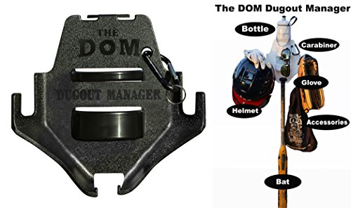 Dugout Organizer the DOM - Black by  THE DOM