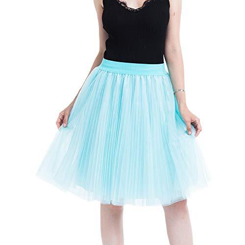 Donna Il Multicolore Cintura Gonne Partito In Tutu Gonna Danza Mini Petticoat Di Con Tulle Per Italily Prom Sottogonna Rockabilly Festa Vintage Party Principessa 50s 8nvNPm0wyO