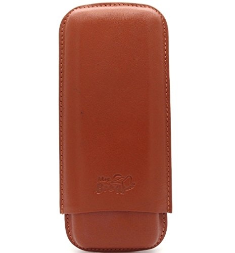 Tan Leather Cigar - 8
