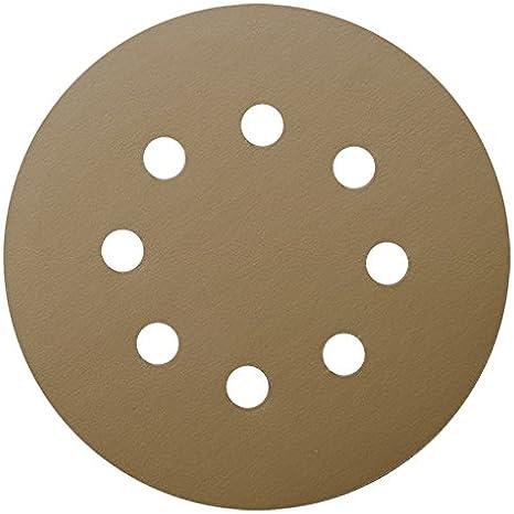 10-Pack 36 Grit Shark 45829 4.5x7//8-Inch Abrasive Flap Discs Aluminum Oxide Type 27