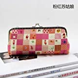 HATCHMATIC 19 * 8 * 2.5cm Handmade Handbag Purse Frame Pen Bag DIY Crafts Material Kit for Women Clutch Purse Frame Pouch Free shipping: design 13