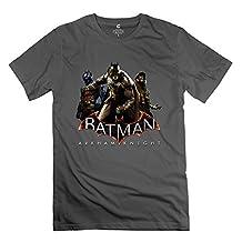 CXY Men's Batman Arkham Knight Coming T-Shirt DeepHeather [Apparel]