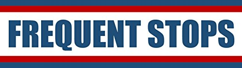Frequent Stops Bumper Magnetic Sign. FREQUENT STOPS Carrier Magnet USPS - 3