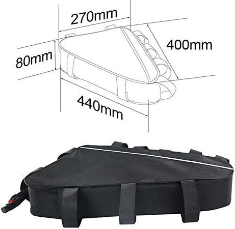 SYN-GUGAI Batterie de v/élo Batterie de v/élo /électrique Triangle 48V avec Chargeur v/élo de Montagne modifi/é pour Moteur 1800W 1500W 1000W 500W,36A20Ah Batterie de v/élo /électrique Rechargeable Li-ION