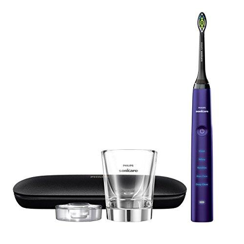 41ECtDZgUmL - Philips Sonicare DiamondClean Classic Rechargeable Electric Toothbrush, Amethyst HX9371/71