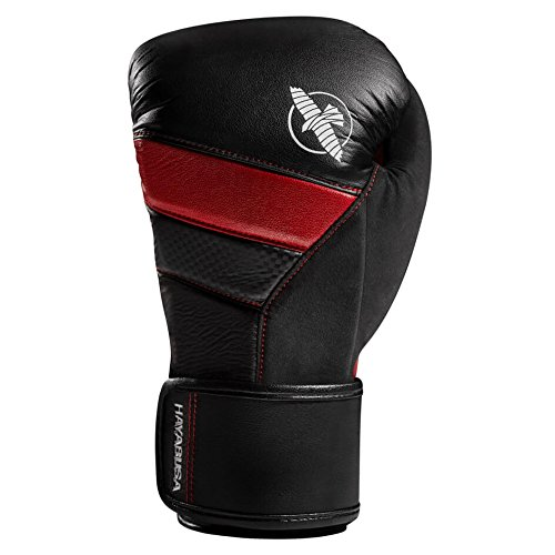 Hayabusa T3 16oz Boxing Gloves (Black/Red)