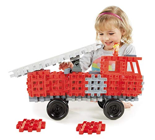 Little Tikes Waffle Blocks Vehicle Fire Truck