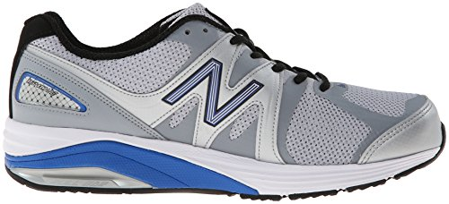 New Balance M1540 2E Running Shoe Silver / Blue pxCul