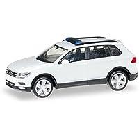 Herpa Miniaturmodelle GmbH- MiniKit: VW Tiguan, Color Blanco