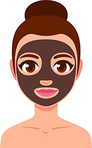Beauty Facial Mask Spa Day Skincare Korean Beauty Cartoon Vinyl Sticker (2