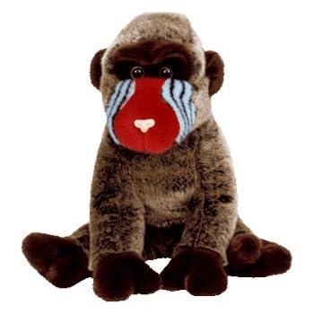 b5debad4ade Amazon.com  Ty Beanie Baby - Cheeks the Baboon - retired  Toys   Games