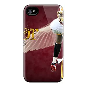 Cute Appearance Cover/tpu ZhN2244smcS Washington Redskins Case For Iphone 4/4s