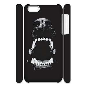 GGMMXO Animal Pattern Phone 3D Case For Iphone 5C [Pattern-3]