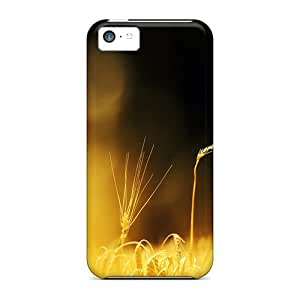 High-quality Durable Protection Case For Iphone 5c(wheat Close Up)