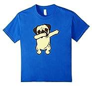 Dabbing Pug Funny Shirt Dab Dog Hip Hop T-Shirt