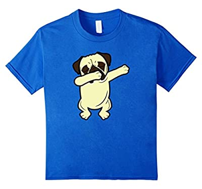 Dabbing Pug Funny Shirt Dab Dog Hip Hop T-Shirt